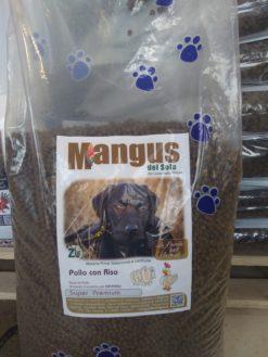 Mangus del Sole - Dog SuperPremium Puppy Pollo e Riso. 15kg