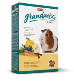 Grandmix Cavie. Mangime composto per cavie (porcellini d'India), cincillà e degù. 850gr