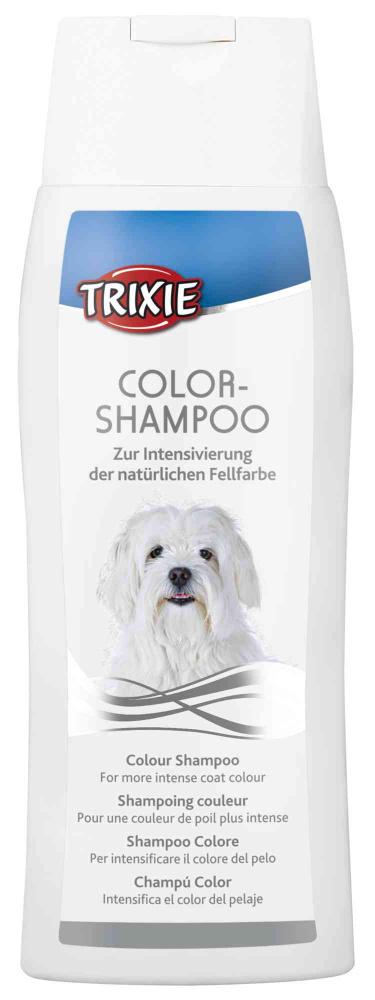 Trixie - Shampoo colore per pelo bianco o chiaro. 250ml