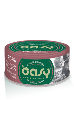 Oasy - Umido Cat More Love - Pollo con Fegato. 70gr
