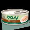 Oasy - Umido Cat specialità naturale - Pollo con Anatra. 70gr
