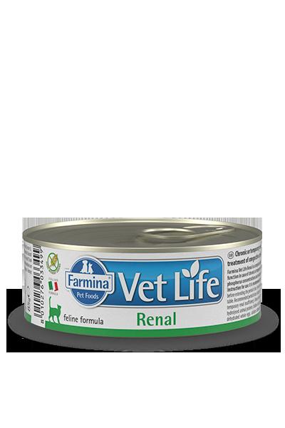 Farmina - Vet Life Umido Gatto Renal. 85gr