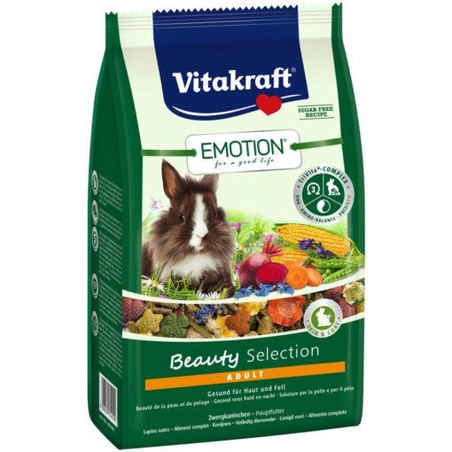 Vitakraft - Emotion Beauty Conigli Nani Adulti. 600 g