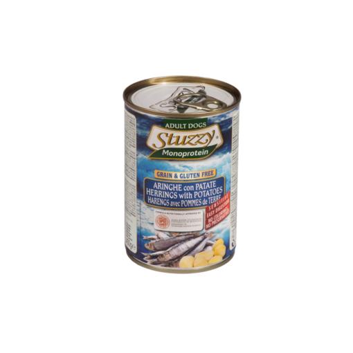 Stuzzy - Monoproteico Cane con Aringa Patate. 400gr
