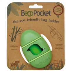 Becothings - Portasacchetti con ricambi Verde 9x4x5 cm