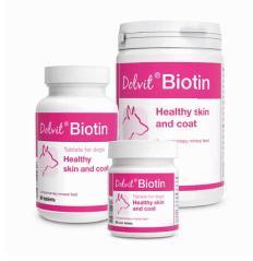 Dolfos - Dolvit Biotina 90. Allattamento, pelle e pelo del cane. 90pz