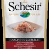 Schesir -Cat Busta Tonno con Gamberetti. 85gr