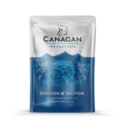 Canagan – Cat buste Chicken with Salmon Pollo + Salmone. 85gr