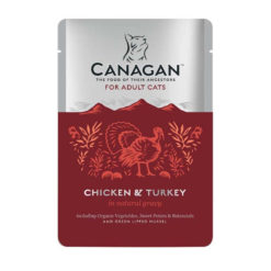 Canagan – Cat buste Chicken with Turkey Pollo + Tacchino. 85gr