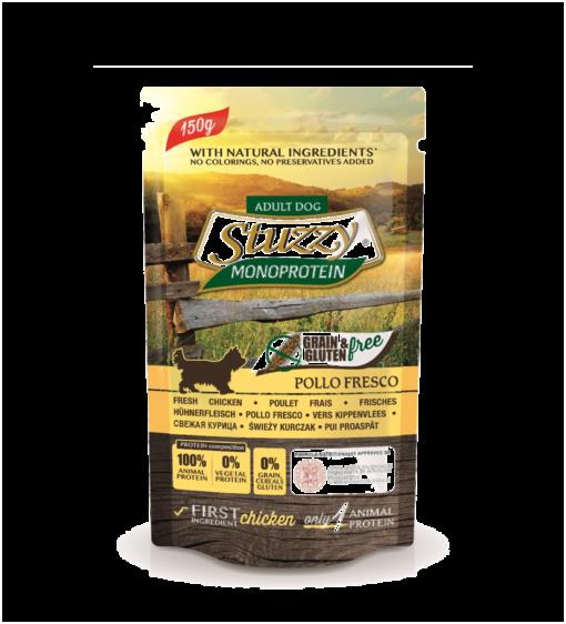 Stuzzy - Busta Dog con Pollo fresco. 150gr