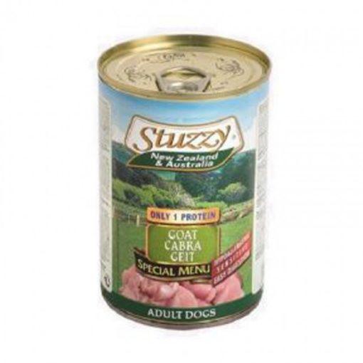 Stuzzy - Monoproteico Cane con Capra. 400gr