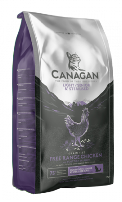 Canagan - Crocchette Gatto Light Senior Chicken. 1,5kg