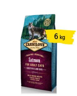 Carnilove - Crocchette Gatto Sensitive Salmone. 6kg