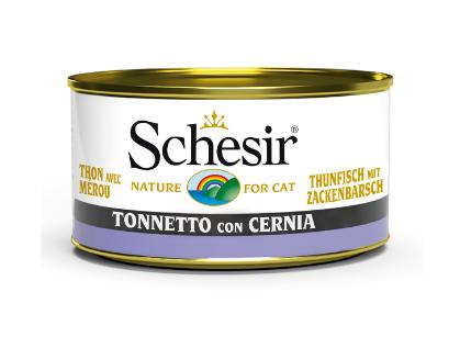 Schesir -Cat Tonno e Cernia. 85gr