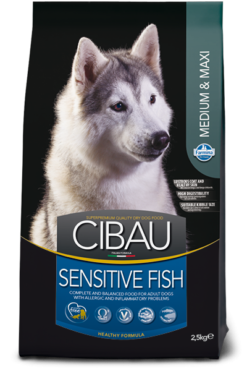 Cibau - Adult Sensitive Fish Medium Maxi. 12kg