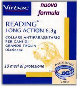Virbac – Collare Antiparassitario Cane Reading Long Action. Taglia grande