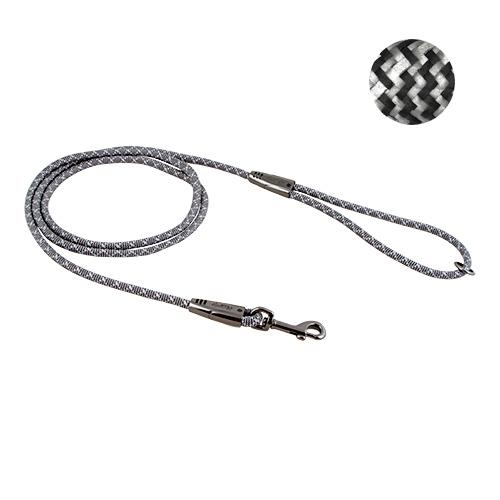 Hurtta - Guinzaglio Casual Rope Argento Cenere. 180x0.8cm