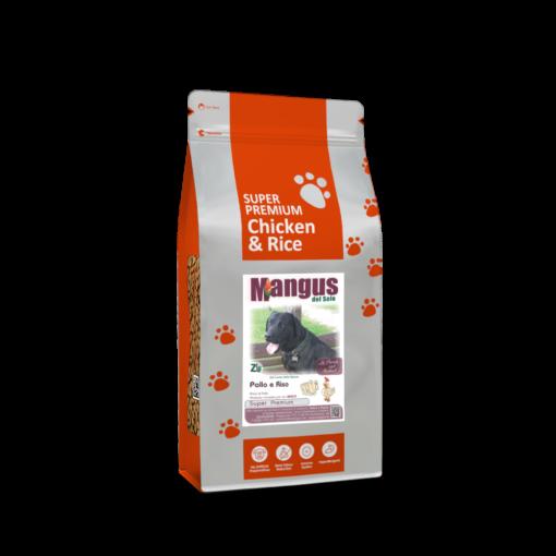 Mangus del Sole - Dog SuperPremium Pollo Riso. 2kg