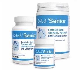 Dolfos - Senior vitamine cani anziani. 90pz