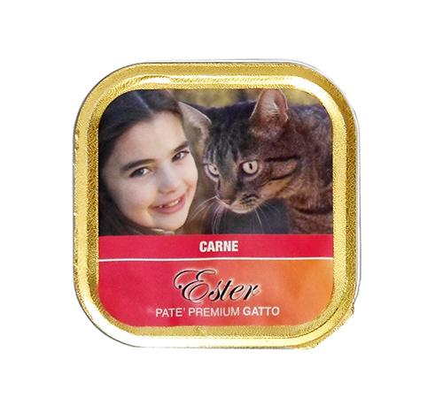 Ester - Umido Gatti Patè con Carne. 100gr