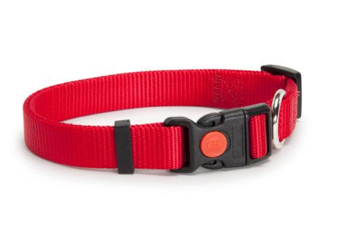 Camon - Collare Sgancio Regolabile Rosso 18mm