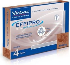 Virbac - Effipro Spot on Cane 40-60 kg.