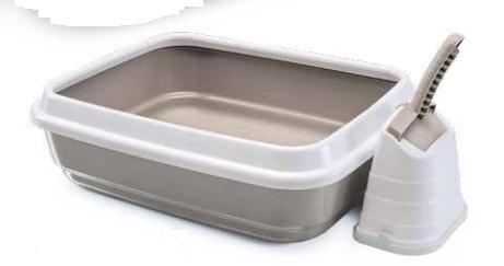 Imac -Toilette Lettiera Jerry per Gatti. 50x40x14,5 cm