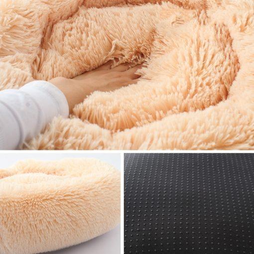 Cianbella cuscino soffice in cotone. Diametro 60cm