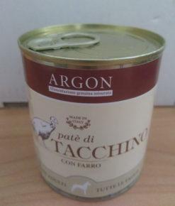Argon - Cibo umido cane Tacchino con Farro 300gr