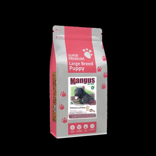 Mangus del Sole - Dog SuperPremium Large Breeds Puppy Salmone Patata. 12kg