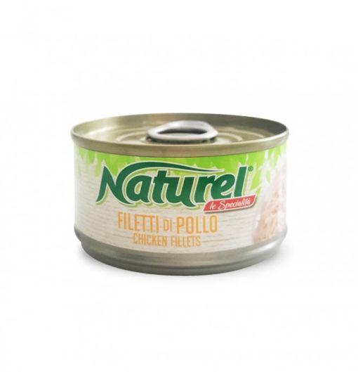Naturel - Umido Filetti di Pollo. 70gr