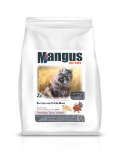 Mangus del Sole - Cat Grain Free Tacchino. 400gr