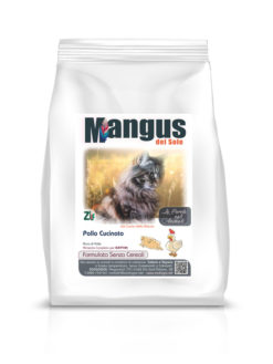 Mangus - Cat Grain Free Kitten Pollo. 2kg