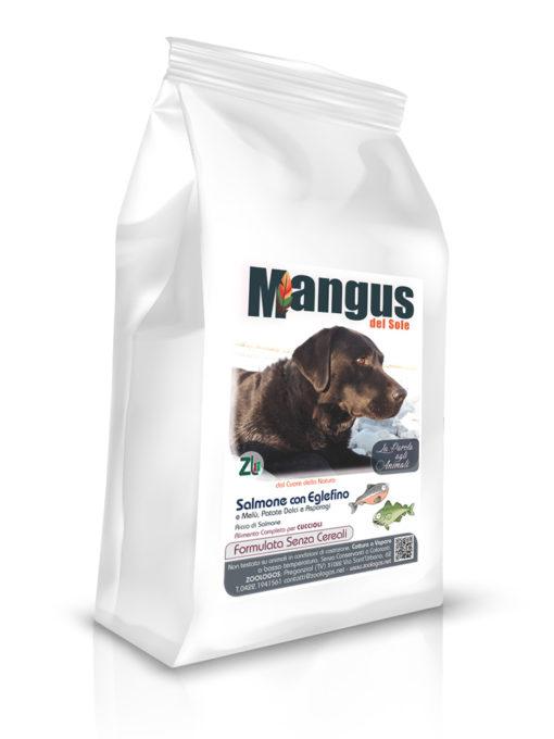 Mangus del Sole - Dog Grain Free Puppy Salmone Patata Dolce. 12kg