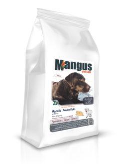 Mangus del Sole - Dog Grain Free Small B. Agnello Patata Dolce. 6kg