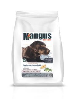Mangus del Sole - Dog Grain Free Eglefino Patata Dolce. 2kg