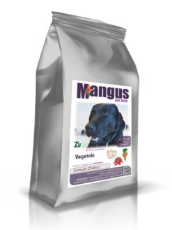 Mangus del Sole - Dog Vegetale. Crocchette Vegetariane 12kg