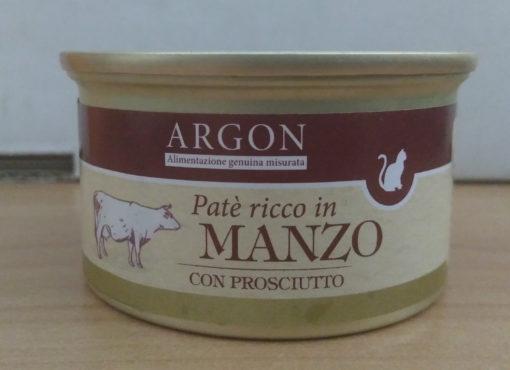 Argon - Patè con Manzo e Prosciutto. 85gr