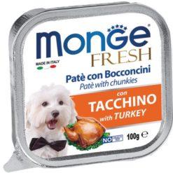 Monge - Fresh Tacchino 100gr