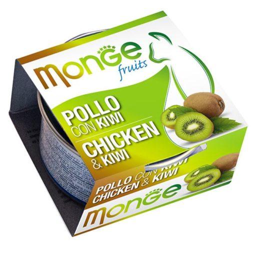 Monge - Cat Fruit Pollo Kiwi 80gr