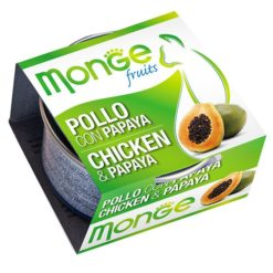 Monge - Cat Fruit Pollo Papaya 80gr