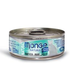 Monge - Cat Natural Fantasia Mare Pollo 80gr