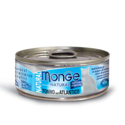 Monge - Cat Natural Tonno dell'Atlantico 80gr