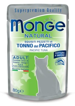 Monge - Cat Buste Natural Tonno Pacifico 80gr