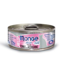 Monge - Cat Jelly Tonno Acciughe 80gr