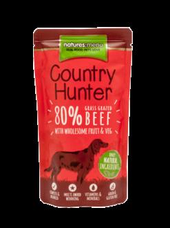 Natures:Menu – Dog Country Hunter- Manzo. Busta 150gr