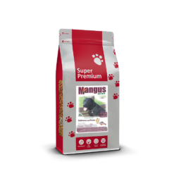 Mangus del Sole - Dog SuperPremium Small B. Salmone Patata. 2kg