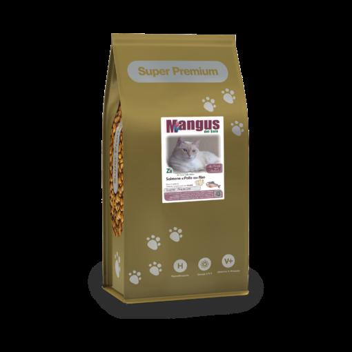 Mangus del Sole - Cat Superpremium Salmone. 7,5kg