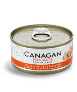 Canagan – Cat Tuna with Praws Tonno + Gamberi. 75Gr