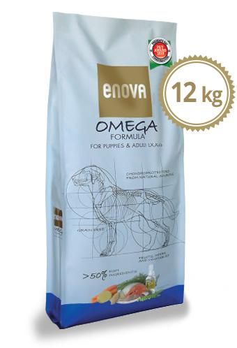 Enova - Crocchette Cane Omega Formula per tutti. 12kg
